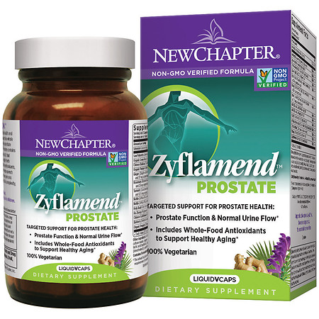 New Chapter Zyflamend Prostate, Vegetarian Capsules - 60 ea