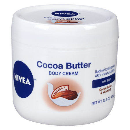Nivea Cocoa Butter Body Cream Jar - 15.5 oz.