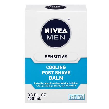 Nivea Men Sensitive Cooling Post Shave Balm - 3.3 fl oz