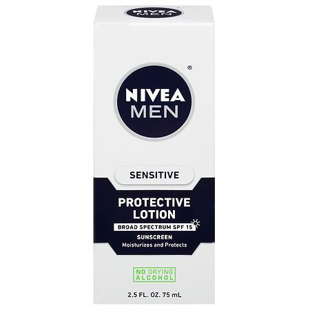 Nivea Men Sensitive Protective Lotion SPF 15 - 2.5 fl oz