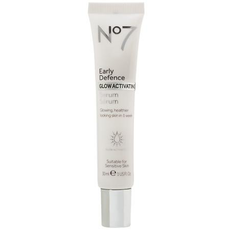 No7 Early Defence GLOW ACTIVATING Facial Serum - 1.01 oz.