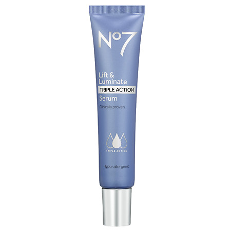 No7 Lift & Luminate TRIPLE ACTION Serum - 1 oz.