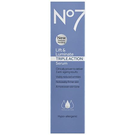 No7 Lift & Luminate TRIPLE ACTION Serum - 1.69 OZ
