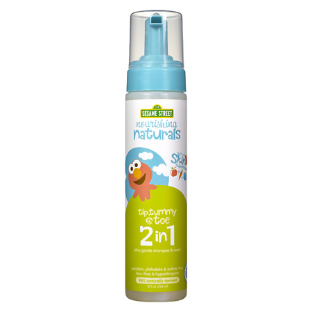 Nourishing Naturals Sesame Street 2 In 1 ShampooWash - 8 oz.
