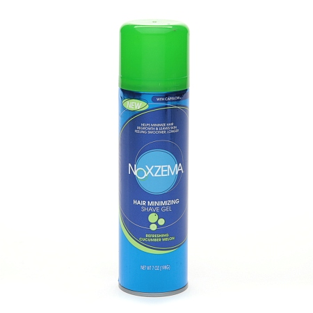 Noxzema Shaving Hair Minimizing Shave Gel Refreshing Cucumber Melon - 7 oz.