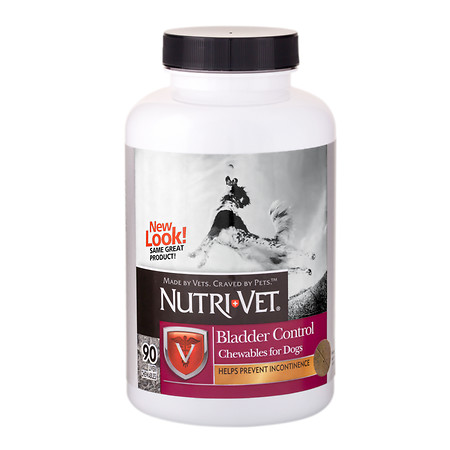 Nutri-Vet Bladder Control Chewables for Dogs - 90 ea