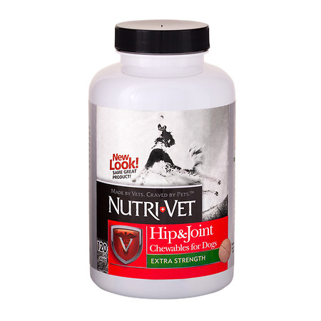 Nutri-Vet Hip & Joint Chewables for Dogs - 120 ea