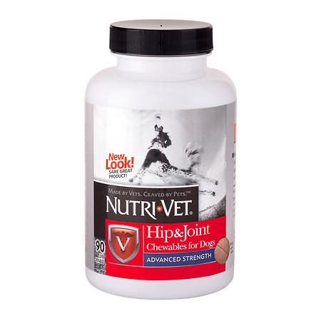 Nutri-Vet Hip & Joint Chewables for Dogs - 90 ea