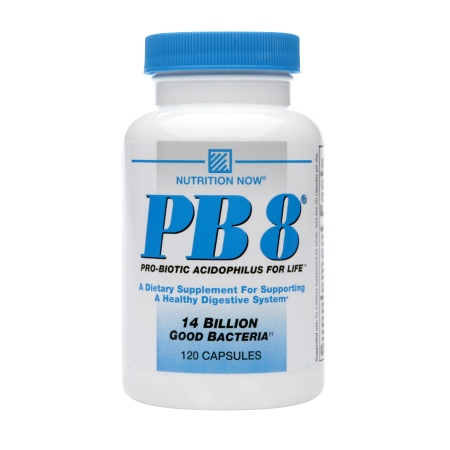 Nutrition Now PB 8, Probiotic Acidophilus - 120 capsules