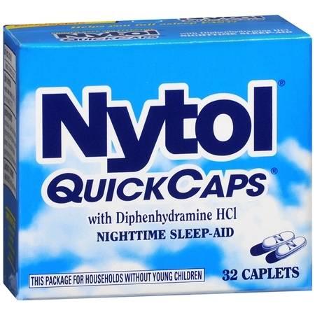 Nytol QuickCaps, Caplets - 32 ea