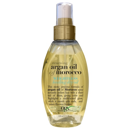 OGX Renewing Weightless Healing Dry Oil Spray - 4 fl oz