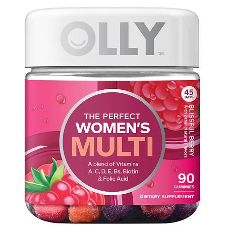 OLLY The Perfect Women's Multi Blissful Berry - 90 ea