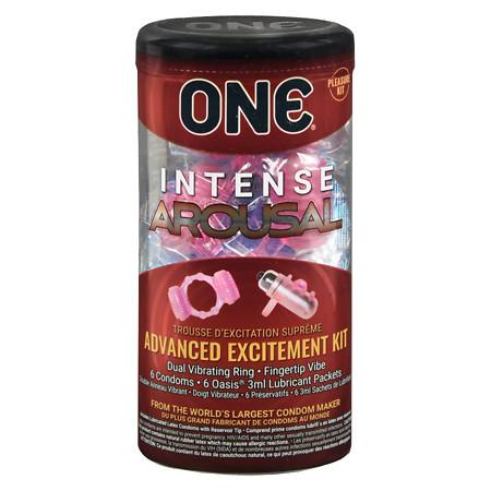 ONE Intense Arousal Condoms - 12 ea