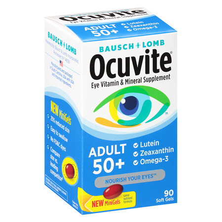 Ocuvite Eye Health Adult 50+ - 90 ea