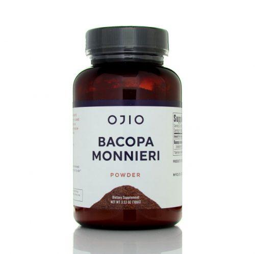 Ojio Bacopa Monnieri Extract Powder, 3.5 oz
