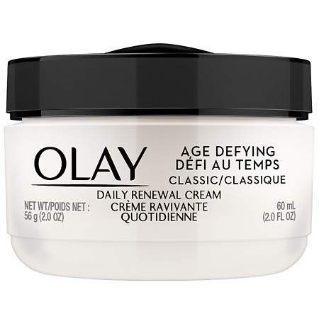 Olay Age Defying Classic Daily Renewal Cream Face Moisturizer - 2 oz.