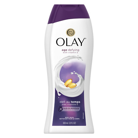 Olay Age Defying Vitamin E Body Wash Unscented - 22 oz.