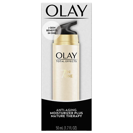 Olay Total Effects 7-In-1 Anti-Aging Face Moisturizer Plus Mature Therapy - 1.7 oz.