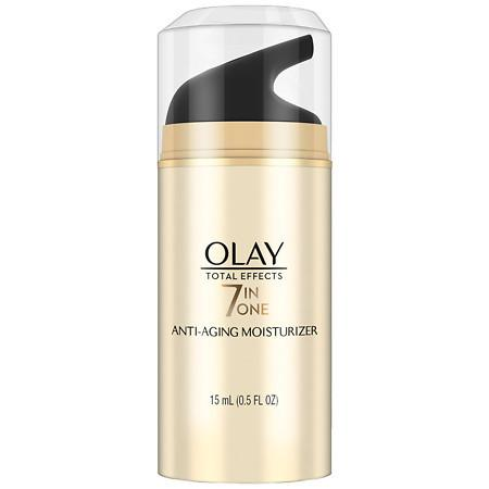 Olay Total Effects 7-In-1 Anti-Aging Moisturizer, Trial Size - 0.5 oz.