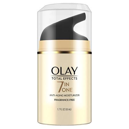 Olay Total Effects 7-in-1 Anti-Aging Face Moisturizer Fragrance-Free - 1.7 oz.