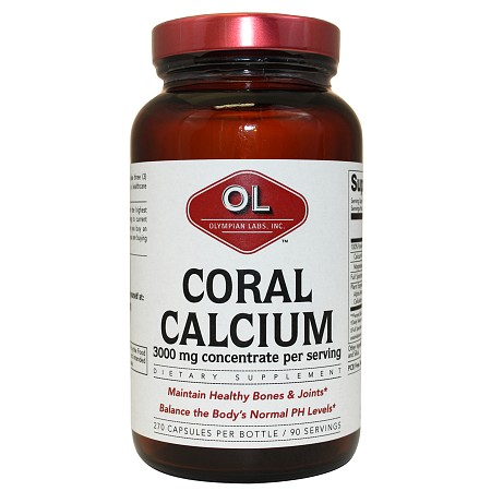 Olympian Labs Coral Calcium - 270 capsules