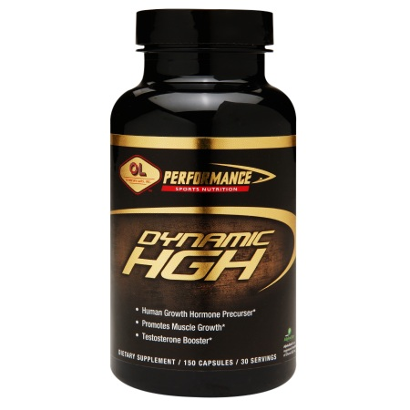 Olympian Labs Dynamic HGH, Capsules - 150 ea
