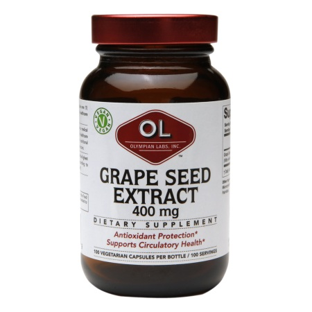 Olympian Labs Grape Seed Extract 400mg - 100 capsules