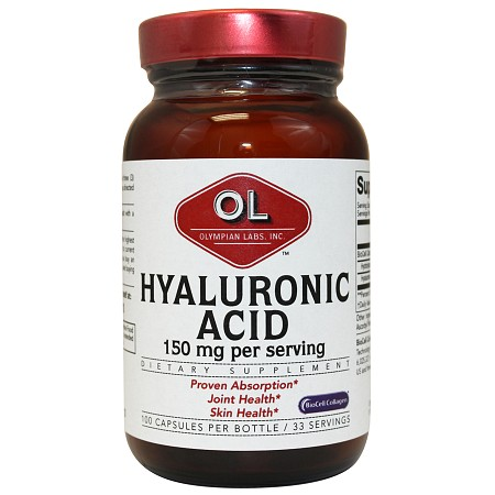 Olympian Labs Hyaluronic Acid - 100 capsules