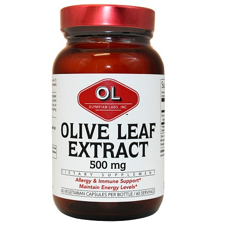 Olympian Labs Olive Leaf Extract 500mg - 60 capsules