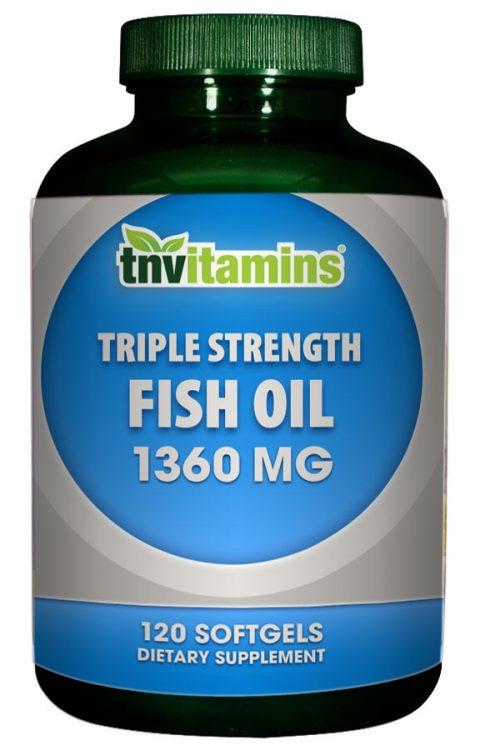 Omega 3 Fish Oil 1360 Mg Triple Strength