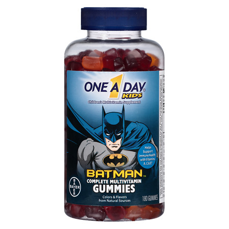 One A Day Kids Batman Gummies - 180 ea