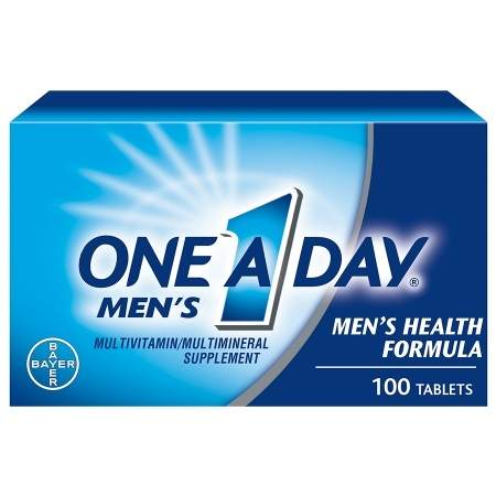 One A Day Men's Health Formula MultivitaminMultimineral Supplement Tablets - 100 ea