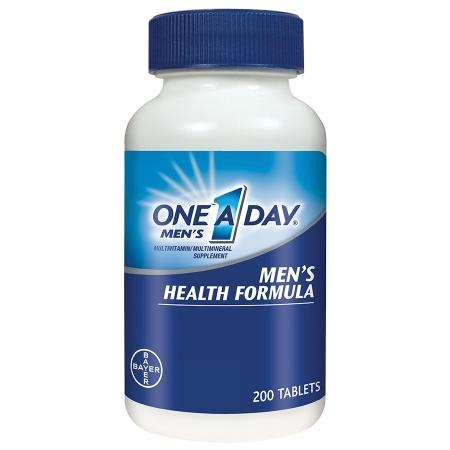 One A Day Men's Health Formula MultivitaminMultimineral Supplement Tablets - 200 ea
