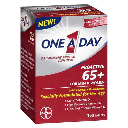 One A Day Proactive 65+ - 150 ea