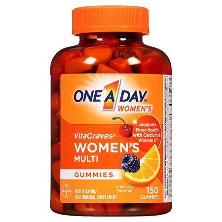 One A Day VitaCraves Women's Multivitamin Gummies - 150 ea