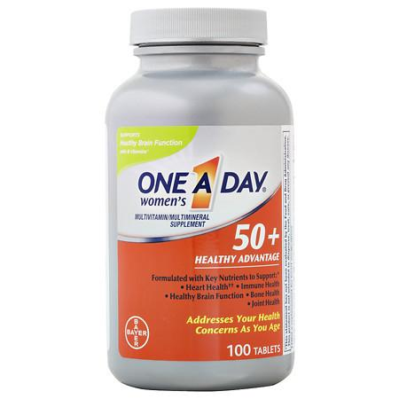 One A Day Women's 50+ Advantage - 100 ea