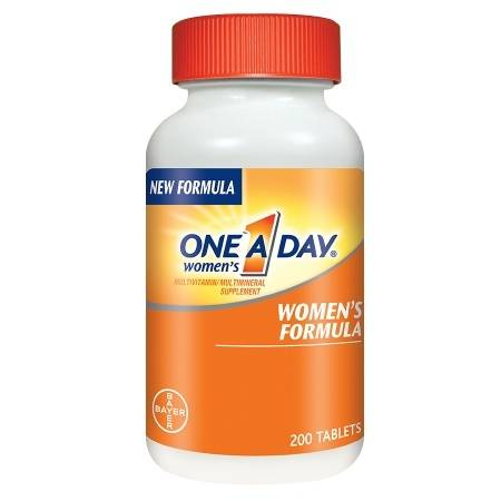 One A Day Women's MultivitaminMultimineral Supplement Tablets - 200 ea