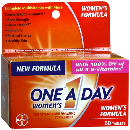One A Day Women's MultivitaminMultimineral Supplement Tablets - 60 ea
