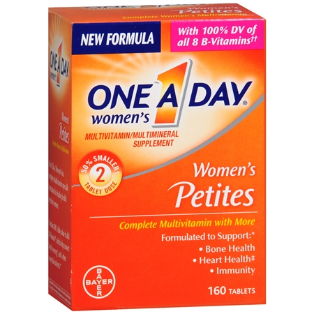 One A Day Women's Petites MultivitaminMultimineral Supplement Tablet - 160 ea