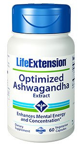 Optimized Ashwagandha Extract, 60 vegetarian capsules
