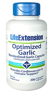 Optimized Garlic, 200 vegetarian capsules