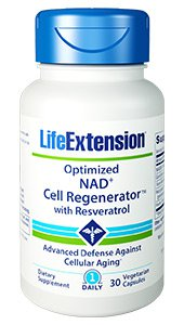 Optimized NAD+ Cell Regenerator™ with Resveratrol, 30 vegetarian capsules