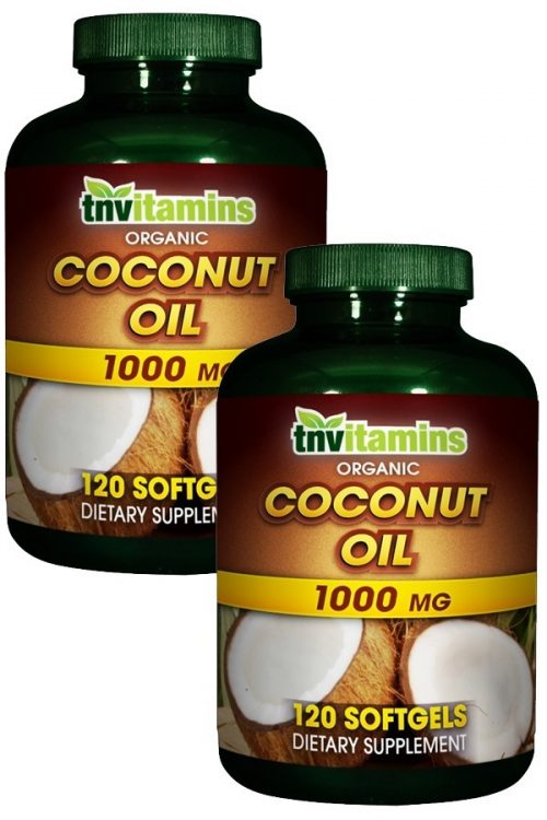 Organic Coconut Oil 1000 Mg Softgels