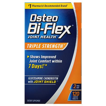 Osteo Bi-Flex Advanced Triple Strength Glucosamine Chondroitin MSM with 5-Loxin, Tablets - 120 ea