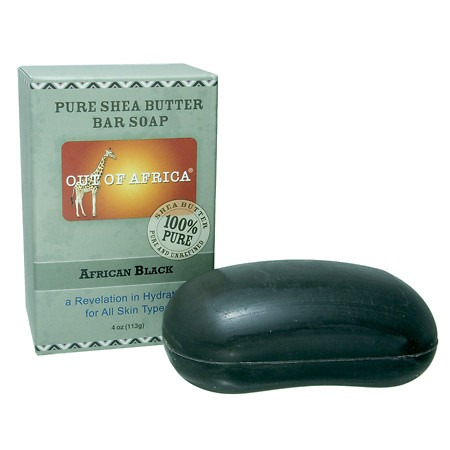 Out Of Africa Pure Shea Butter Bar Soap African Black - 4 oz.
