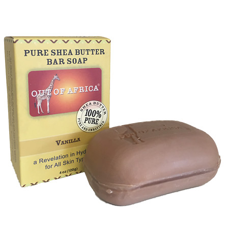 Out Of Africa Pure Shea Butter Bar Soap Vanilla - 4 oz.