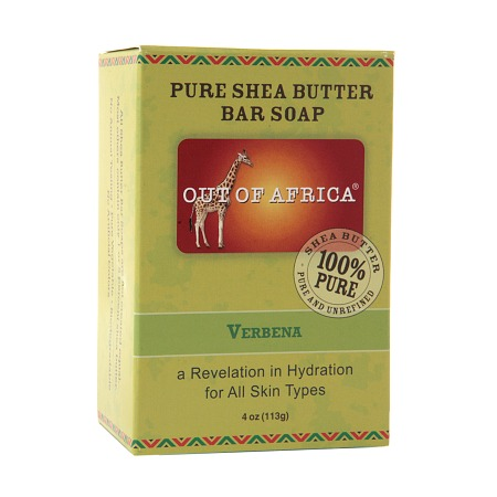 Out Of Africa Pure Shea Butter Bar Soap Verbena - 4 oz.