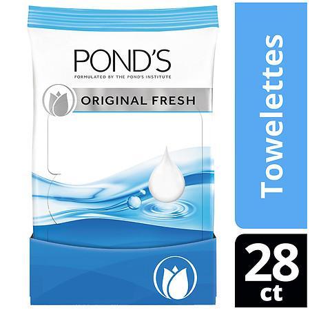 POND'S Moisture Clean Towelettes Original Fresh - ea