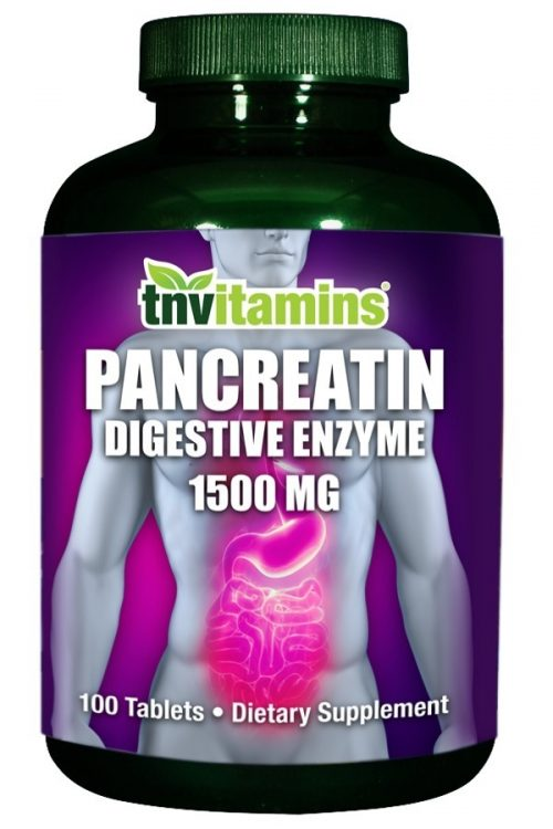 Pancreatin Multi Enzymes 1500 Mg