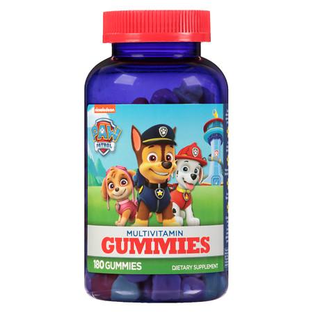 Paw Patrol Multivitamin Children's Gummies - 180 ea